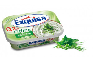 Сыр Exquisa Fitline Krauter 0.2% 175гр