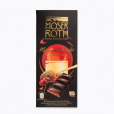 Шоколад Moser Roth Mousse au Chocolat Sauerkirsch-Chili, 150 гр.